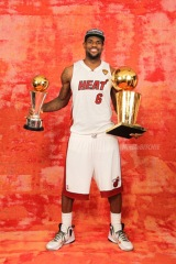 2012 NBA Finals Portraits