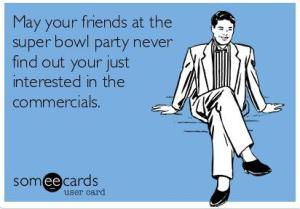 Actually this is most of my friends. Super Bowl parties at my place are petty boring...